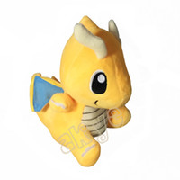 babies toy sale - Hot Sale quot cm Dragonite Poke Pocket Monsters Plush Doll Stuffed Toy Pikachu Animals For Baby Gifts
