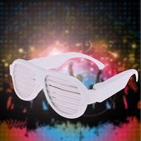 bar club dance - LED Glow Sound Control Glasses Rechargeable Multicolored Light Flashing Musical Shades Activated Club Bar Dancing Hall Party Disco L1445