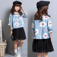 beauty suit jacket - Beauty Baby Girls Clothes Girl s Jackets Children Outwear Girl Printed Jackets Fashion Kids Clothing Baby Coats Lovely Tops Out Suits