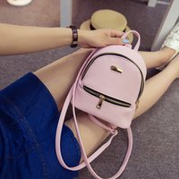 teenage fashion - 2016 Fashion Backpack New Style backpacks Women s Leather Backpack Girl s Racksacks Mini Backpack for Teenage Girls