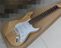 ash guitar bodies - Electric Guitar with Original Ash Wood Body and Rosewood Fingerboard White Pickgaurd and can be customized