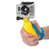 Wholesale GoPro Floating Grip Handheld Grip Stick Floaty Grip flotage Stabilizer Monopod for Underwater Diving Camera Go pro Hero Free DHL