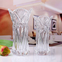 Wholesale Little cabbage transparent glass vase Fuguizhu hydroponic Lily imitation crystal glass simple modern fashion