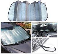 Wholesale Car Sun Shade Window windshield Sunshade Covers Visor front car Screen foldable Bubbles Auto Sun Reflective Shade High Quality
