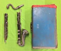 Wholesale Vintage Selmer Depose Wood Henri Paris Bass Clarinet Serial U9818 AS IS