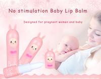 baby balm - 4 Taste Choice No Stimulation Baby Lip Balm Designed for Pregnant Women And Baby Moisturizer Lipstick