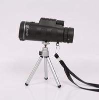 Precio de Definición de enfoque-40x60 telescopio monocular de alta potencia de alta definición bajo la luz de la visión nocturna de doble foco lugares al aire libre en nombre de un OEM