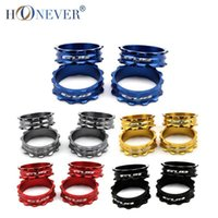 Wholesale 4pcs Ultra Light Aluminum Bicycle Washer Mountain Road Bike Washers Spacer Gasket Fork Headset CNC Parts mm