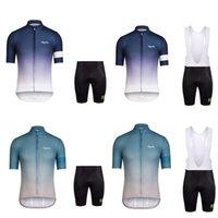 Wholesale HOT Newest RAPHA Men s Cycling Jersey Short Sleeves Summer Cycling Shirts Bike Wear Breathable Hot Rapha Jerseys