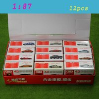 Wholesale C8720 D Model Cars Assembling Cars HO Scale For Model Train Layout NEW