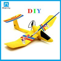 Cheap DIY airplane RC Toys Glider Airplane Bluetooth Drone Quadcopter Wireless Uplane Romote Controlled Airplane from Majesty