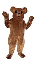 bear cub movie - Bear Cub Mascot Costume Fursuit Adult Size high quality bear theme Mascotte Carnival fancy dress kits for school party holiday