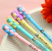 animal erasers for sale - Hot sale colorful mechanical pencils with animal design eraser writing pencil for school Stationery office accessories ss a911