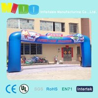 air story - activity celebration inflatable arches little Hero Major League Happy Story air arches amusement park road lead props inflatable arches