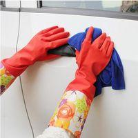 automobile cleaning supplies - set Car Washer Wash mitt Auto Latex plus velvet double layer clean Supplies Automobiles Tools Maintenance Accessories