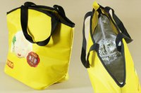 Wholesale 210D polyester tote cooler bag isulation bag ice packs with own logo printing for promotion