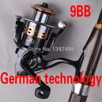 bait runner - Europe Most Popular smooth Spinning Fishing Reel series BB Carp Fishing Reel Bait Runner Fishing Reel