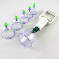Wholesale Chinese Cupping Set Slimming Vacuum Therapy Traditional Massage Acupuncture Fit Suction Vacuum Medical Body Cups