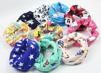 Wholesale Autumn Winter Warm Scarves for Kids Children cm Cotton Scarf Boys Gilrs O Ring Scarf Baby Collar Neck Scarf Neckerchief
