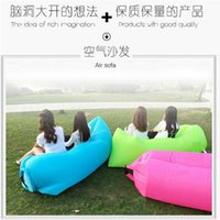 Wholesale 2016 Most Popular Inflatable Outdoor Air Sleep Sofa Outdoor Cushion Decorative Pillow Inflatable air sofa DHL freeshipping
