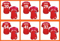 Cheap Baseball 20 Donaldson 19 Bautista 29 Travis 54 Os Best Unisex Short Toronto Blue Jays jersey jerseys