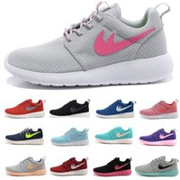 american dark brown - Brand shoes Roshe running shoes London Mesh RUN sports sneakers breathable European and American Style Women and Men shoes