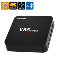 android set top box price - Best price V88 Android Tv Set top Box Rockchip Quad Core GB GB Smart Wifi D HDMI DLNA K Kodi Pre Full Installed