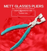 Wholesale matt glasses plier nose pad glasses leg pliers glasses tool different model high quality Q008
