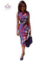 africa work - Party Dress Custom Made OL dress Africa Wax Ladies Slim Dress Unique Original Party Dress WY142