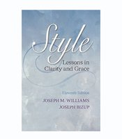 Wholesale 200pcs Style Lessons in Clarity and Grace th Edition by Williams Joseph M Bizup
