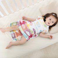 baby quilt making - S Size Baby Sleeping Bags Cotton Gauze Made for Spring Summer Anti kicking Quilts for Kids Enjoy Air Conditioning