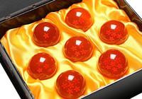 Wholesale Japan Anime Dragon Ball Z Crystal Ball set Toys PVC Goku Action Figures Diameter cm Best Value Gift