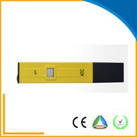 abs ce certificate - 2016 hot sale digital PH meter for water ph testing with CE RoHS certificate Household PH meter ABS new material