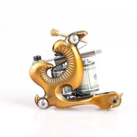 beautiful camels - 2016 New tyle Beautiful Golden Handmade Tattoo Gun Liner Camel Casting Machine Tattoo Machine Coils Art Supply TM8625