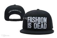baseball song - Mix order Song Snapbacks styles Black Fashion Is Dead Snapback cotton hip hop street headwear adjustable baseball caps