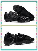 Wholesale Best New season Men s Copa Mundial FG Shoes The generation of the top flight Sneakers Black classic style Boots Cleats
