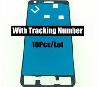 adhesive number plates - Original M Adhesive for Samsung galaxy S2 I9100 I9105 LCD Frame Bezel Plate Adhesive Sticker With Tracking Number
