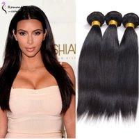 Wholesale 3pcs BrazilianVirgin Hair Malaysian Peruvian Mongolian Cambodian Unprocessed Body Wave Human Hair Bundles Dyeable Best Quality Hair Weave