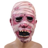 zombie - masks for masquerade ball Party Masks Halloween Horror Mask Party decorative props horror zombie super caps mummy