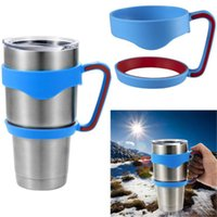 aluminum cup holders - Cup Handle for oz Yeti coolers Rambler Tumbler Rtic Cup Holder Tumbler Rambler Travel Cup