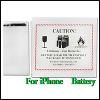 Wholesale Built in Internal Li Li ion Replacement Battery For iphone S S S C G mah mah mah mah mah AAAAA Quality