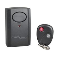 Wholesale Wireless Remote Control Vibration Alarm Home Security Door Window Car Motorcycle Moto Scooter Anti Theft Security Alarm Safe System Detector