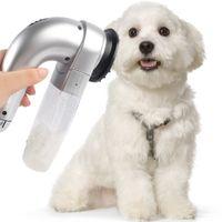 Wholesale Pet Hair Vac Vacuum Removal Fur Suction Grooming Device Incredible Cordless Pet Vac Gray