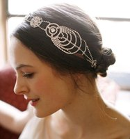 accesories for woman - Gorgeous Vintage Bridal Headpiece Women Headbands For Wedding Bridesmaids Hair Accesories Crystal Wedding Simple Jewelry In Stock
