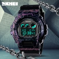 abs watch battery - SKMEI Brand Fashion Sport Watches Men for Schoolboy Mountaineering Enthusiasts ABS Watch Digital Movement Camouflage Wristwatch EL Backlight