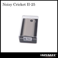 batteries circuits - Authentic Wismec Noisy Cricket II MOD W O Battery Noisy Cricket Optional Circuit in Series and Parallel Original