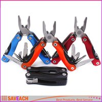 Wholesale Multifunction Folding Pliers Stainless Steel Multi Function Pocket Foldable Pliers Toolkit Outdoor Universal Tool Pocket Knife Hand Tools