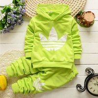 Wholesale Hot Sale Children Tracksuits Set Tops Pant Sets Fashion Boys Girls Sport Clothing Long Sleeve Casual Tracksuit Sports Clothes