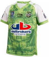 Wholesale 2016 New NRL Canberra Raiders Rugby Jersey ISC Auckland s New Rugby shirts Nines green Jerseys A quality