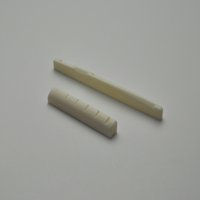 Wholesale High Quality Guitar Accessories Saddle and Nut Bone Nut and Saddle Acoustic Guitar Saddle Made of OX Bone for String Acoustic Guitar